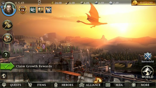 Iron Throne: 5.2.0 The Firstborn Mod Apk [Unlimited Money] 4