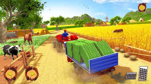 Real Tractor Farm Simulator: Tractor Games Free 1.0.1 screenshots 5
