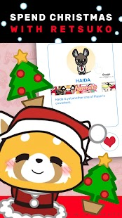 🎄MomentSQ™: Xmas Roleplay Chat with Aggretsuko💯 Screenshot