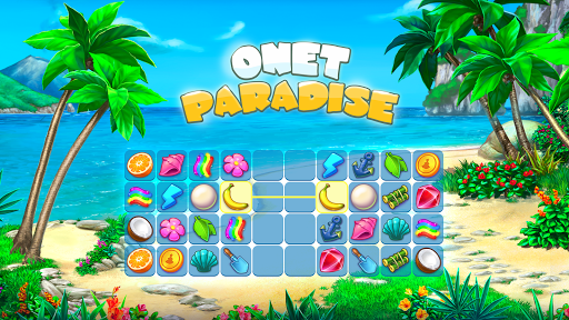 Onet Paradise: pair matching game, connect 2 tiles 1.70 screenshots 1