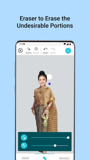 Thai Wedding Dress Photo Editor for Girl 5.0 Screenshots 2