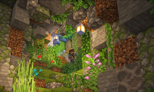 Caves And Cliffs Update for Minecraft PE 7.1 screenshots 1