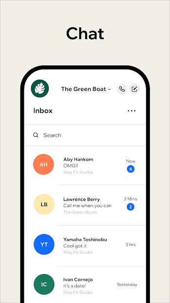 Imágen 7 de Wix Owner: crea sitios, tiendas online o blogs para android