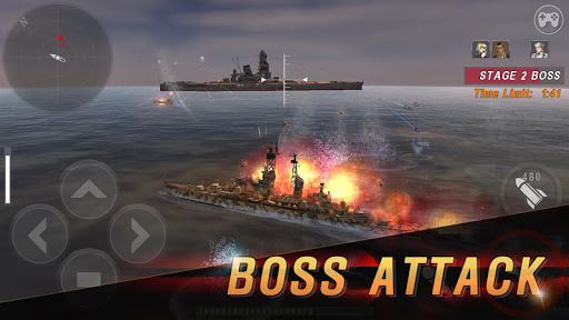 WARSHIP BATTLE:3D World War II  screenshots 5