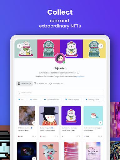 OpenSea: NFT marketplace screenshots 8