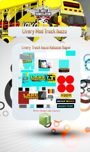 Livery Mod Truck Isuzu NMR71 4.0 Screenshots 3