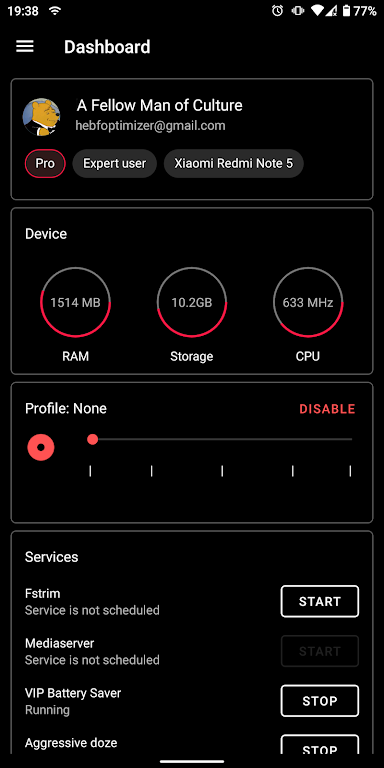 [ROOT] HEBF Battery Saver & Android Toolbox  poster 4