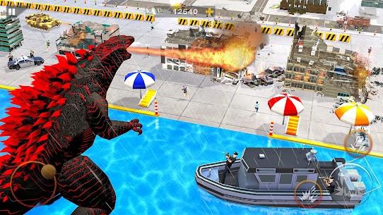 Monster Dinosaur Rampage  Angry King Kong Games Apk İndir 3