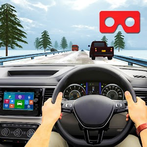 VR Traffic Racing In Car Driving Virtual Games 1.0.23 by Fionxy Games logo