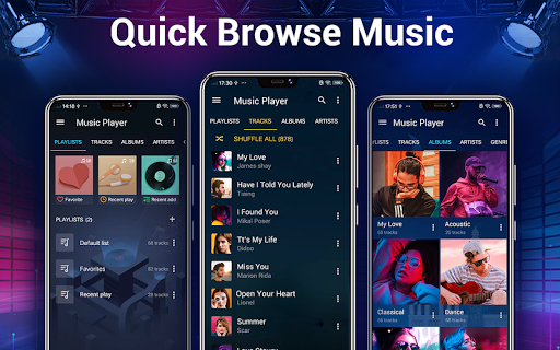 Music Player - Bass Booster & Free Music android2mod screenshots 16