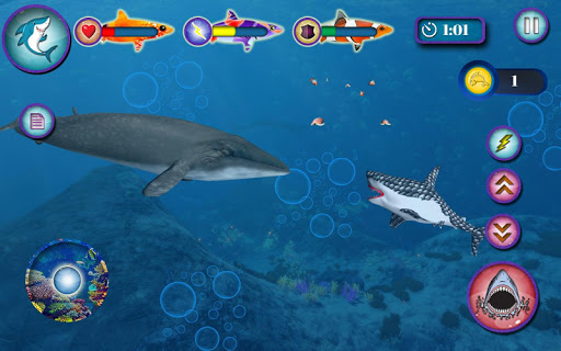 Ocean Shark Simulator u2013 Animal Attack Simulator 0.1 screenshots 3