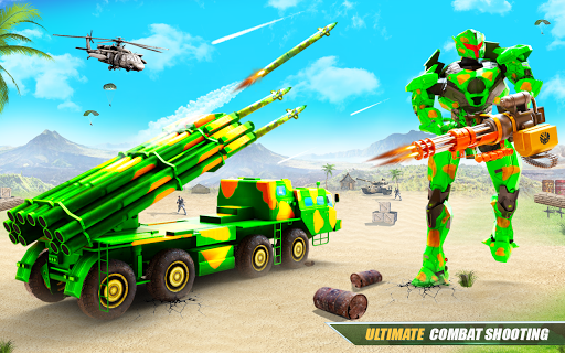 US Army Robot Missile Attack: Truck Robot Games 23 Screenshots 10