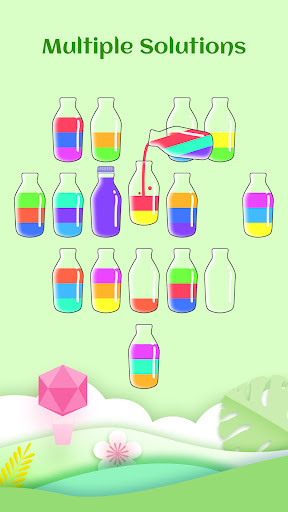 Water Sort Jigsaw: Coloring Water Sort Game  screenshots 2