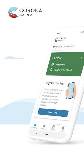Corona-Warn-App screen 0