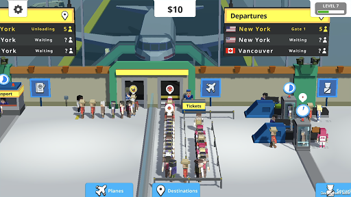 Idle Tap Airport  screenshots 3