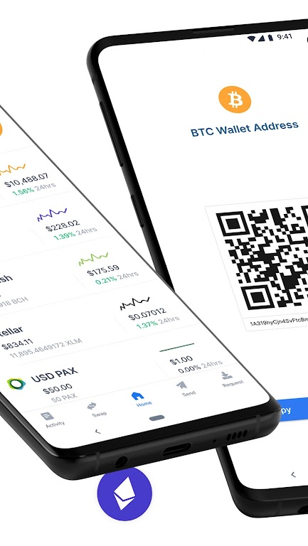 Blockchain Wallet: Buy and Sell Bitcoin & Crypto  poster 1