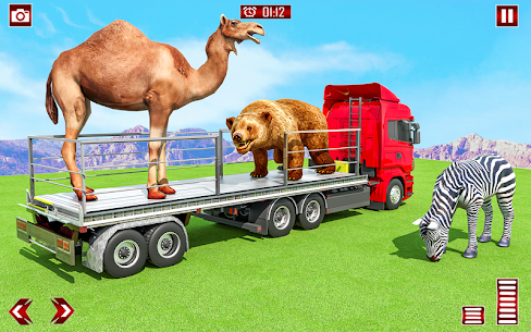 Farm Animals Transporter Truck Simulator :Wild Sim 3
