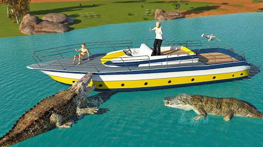 Hungry Crocodile Wild Hunt Simulation Game 8.3 screenshots 1