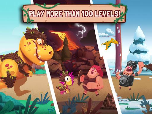 Dino Bash - Dinosaurs v Cavemen Tower Defense Wars 1.3.10 Screenshots 4