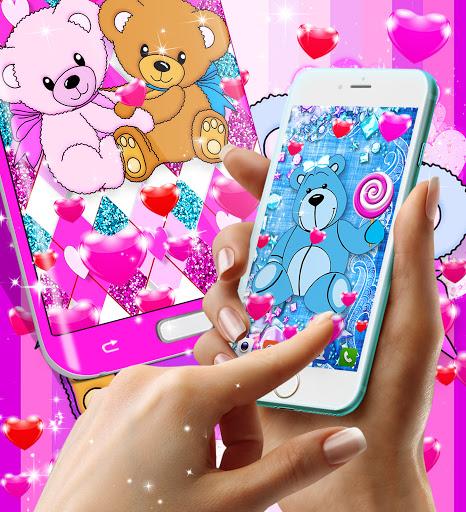 Teddy bear live wallpaper apktram screenshots 5