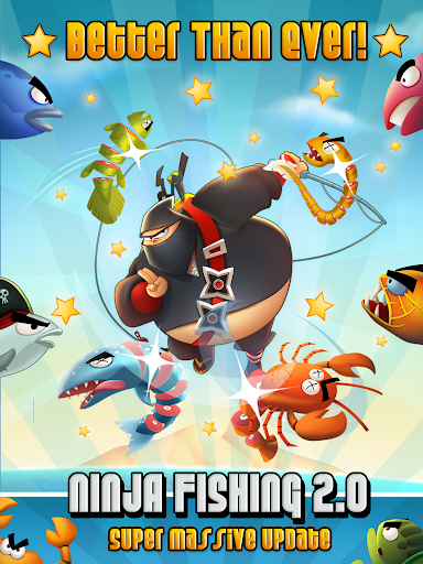 Ninja Fishing apkpoly screenshots 8