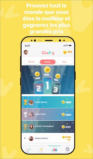 Code Triche Gagnez de l'argent Gratuit avec Givvy! (Astuce) APK MOD screenshots 6