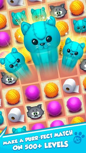 Kitty Snatch - Match 3 ft. Cats of Instagram game screenshots 4