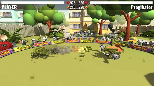 Tank Crash : combats de robots APK MOD (Astuce) screenshots 1
