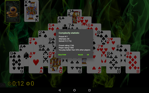 Pyramid Golf Solitaire screenshots 15