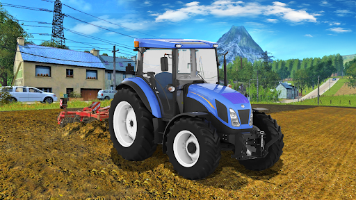 Real Farm Town Farming tractor Simulator Game 1.1.7 screenshots 10