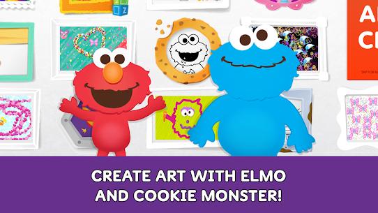 Free Sesame Street Art Maker 1