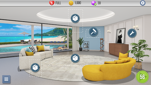 Home Makeover : My Perfect House apkslow screenshots 6