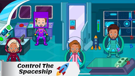 Tizi Town - My Space Adventure Games for Kids 1.1 Screenshots 1