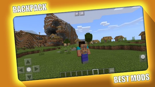 BackPack Mod for Minecraft PE – MCPE Apk Download 2