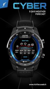 Cyber Watch Face 4