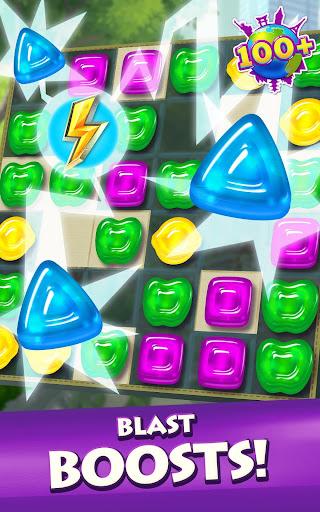 Gummy Drop! Match to restore and build cities  screenshots 11