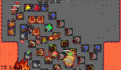 Tower Defense School: BTD Hero RPG PvP Online 1.121 screenshots 2
