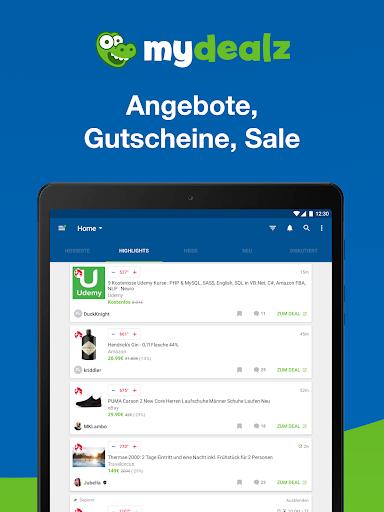 mydealz u2013 Gutscheine, Angebote 5.54.00 Screenshots 12