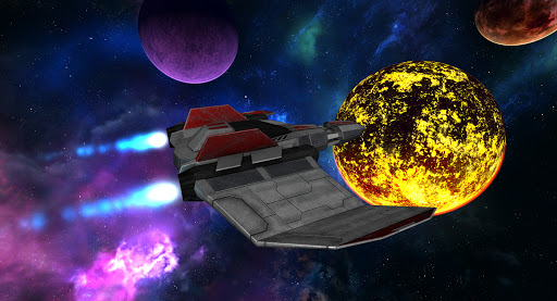 VR Space Spaceship Virtual Reality Roller Coaster  screenshots 15