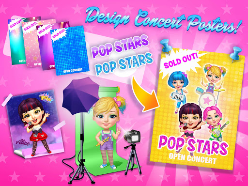 Sweet Baby Girl Pop Stars - Superstar Salon & Show 3.0.10004 screenshots 15