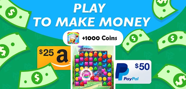 JustPlay – Play, Earn Rewards  Support Charities Apk 4