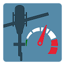 Rotorkopfdrehzahl Tachometer