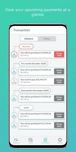 Free Bird - Simple Debt Tracker Apkfinish screenshots 4