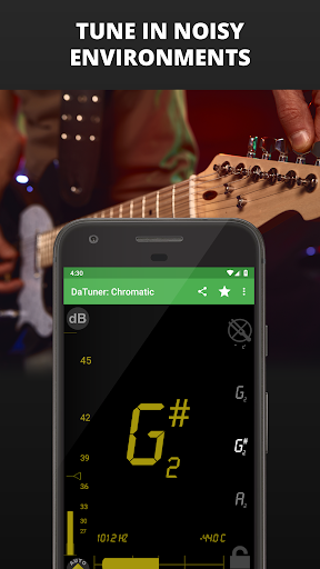 Guitar Tuner, Bass, Violin, Banjo & more | DaTuner 3.200 Screenshots 6