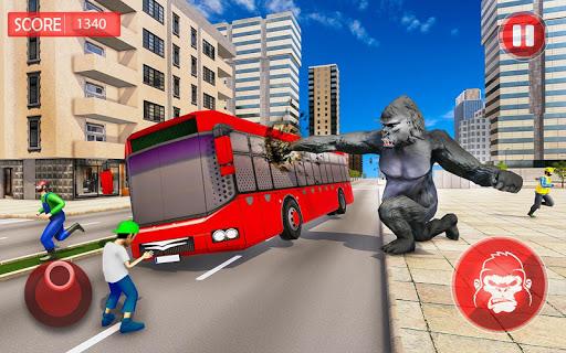 Angry Gorilla City Rampage apklade screenshots 1