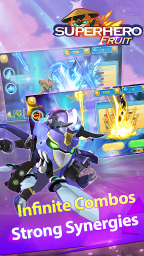 Superhero Fruit: Robot Wars - Future Battles android2mod screenshots 12
