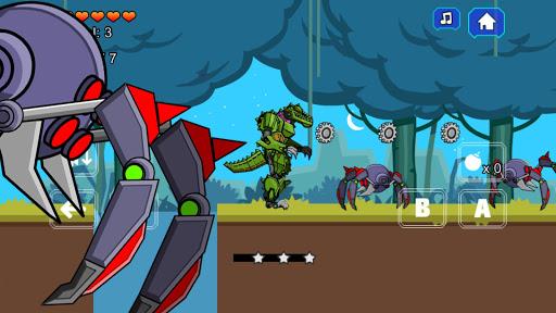 Robot Crocodile Toy Robot War screenshots 1