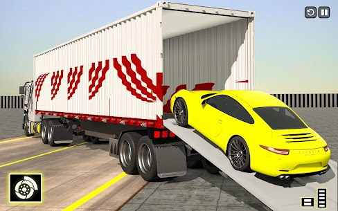 Crazy Car Transport Truck: Offroad Driving Game 9