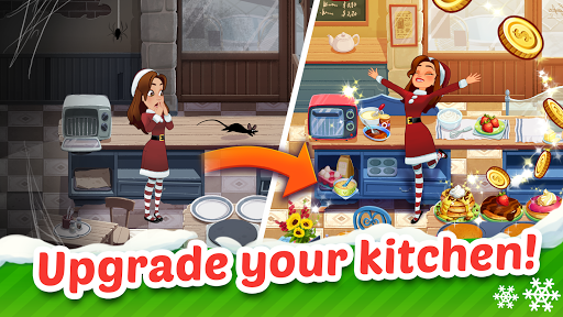 Delicious World - Cooking Restaurant Game modiapk screenshots 1
