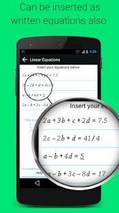 Linear Equation Solver